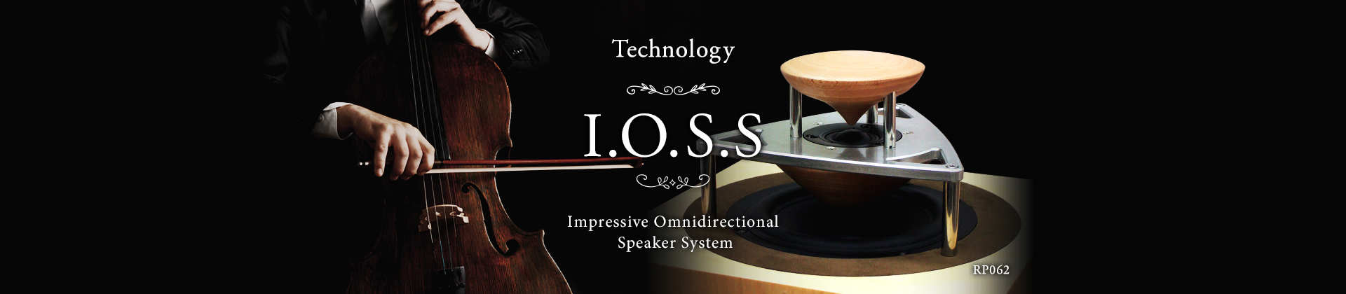 High Quality Sound|IOSS|Impressive Omnidirectional Speaker System